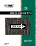 Baler Belt Direction of Travel Guide